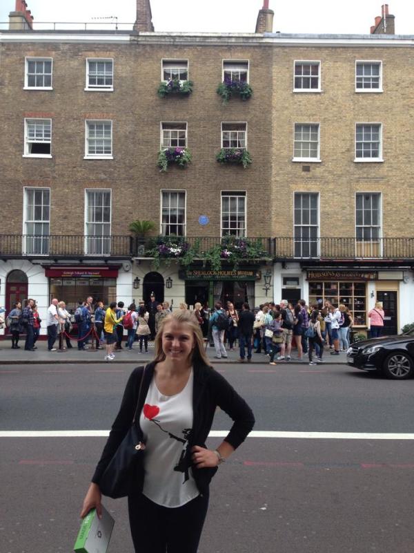 221B Baker Street!