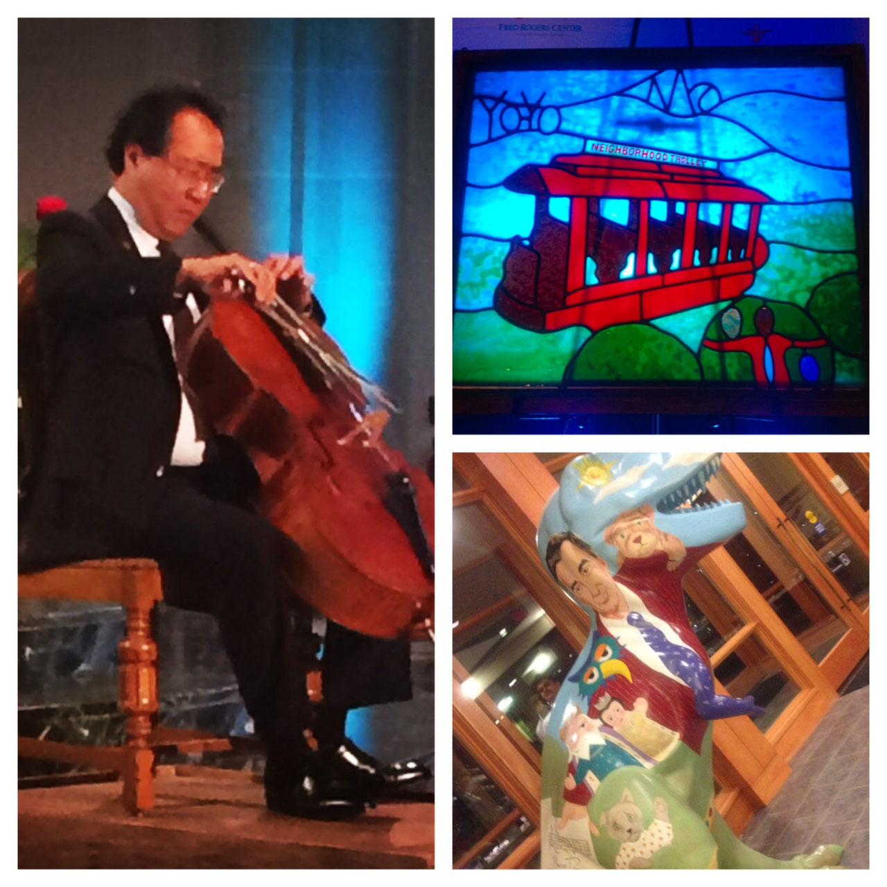 Yo-Yo Ma receives Legacy Award at Saint Vincent College