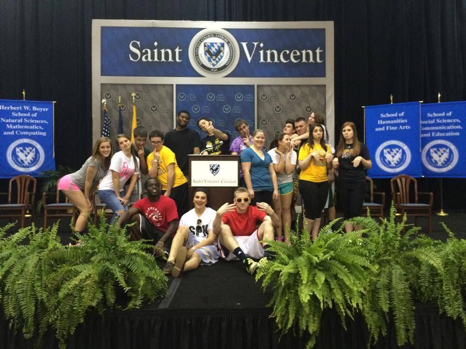 The Saint Vincent Conference Center at Commencement