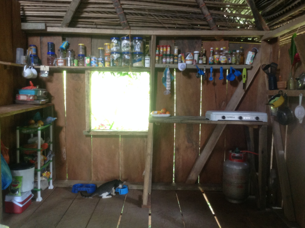 peace corps kitchen
