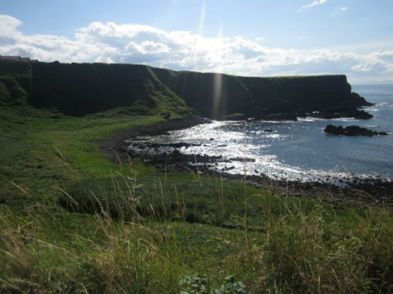 The path to the Giant's Causeway