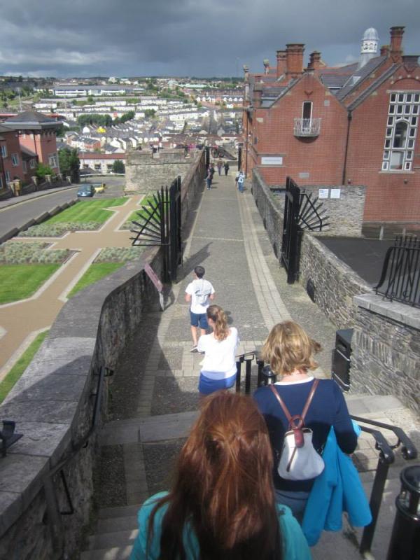 Historic walls of Derry