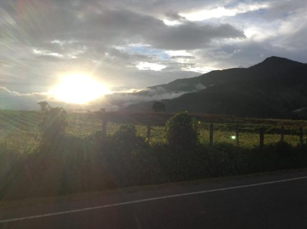 Dawn in Panama