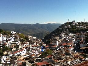 Taxco from the Air