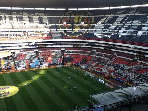 Soccer Stadium in Mexico