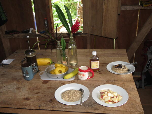 Fresh Breakfast in Panama