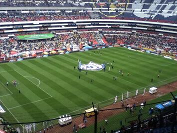 Soccer Game in Mexico