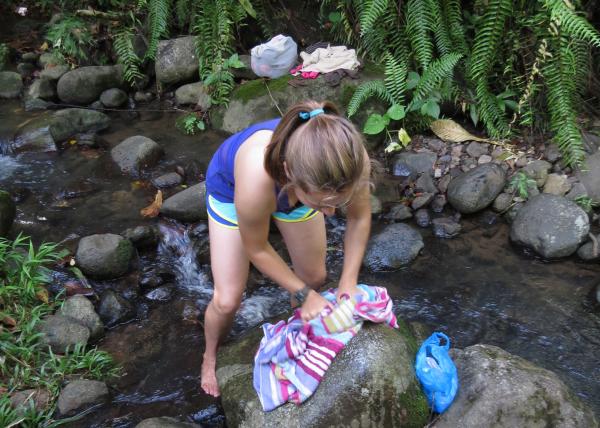 Creek Washing