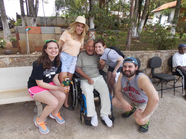 Helping Others in Brazil