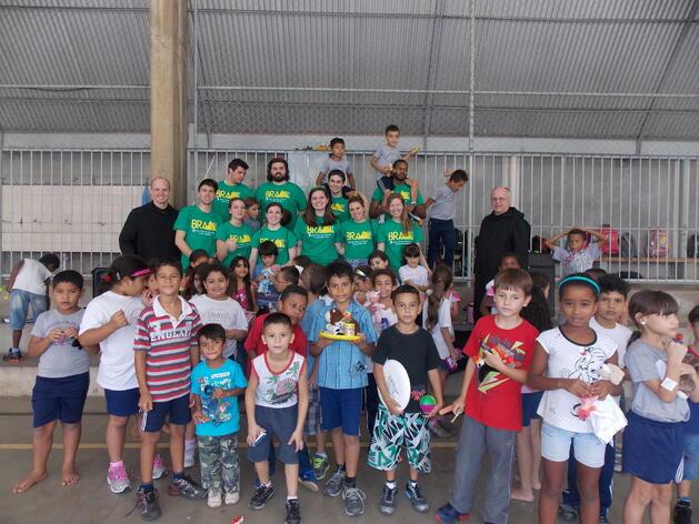 Helping Children in Brazil