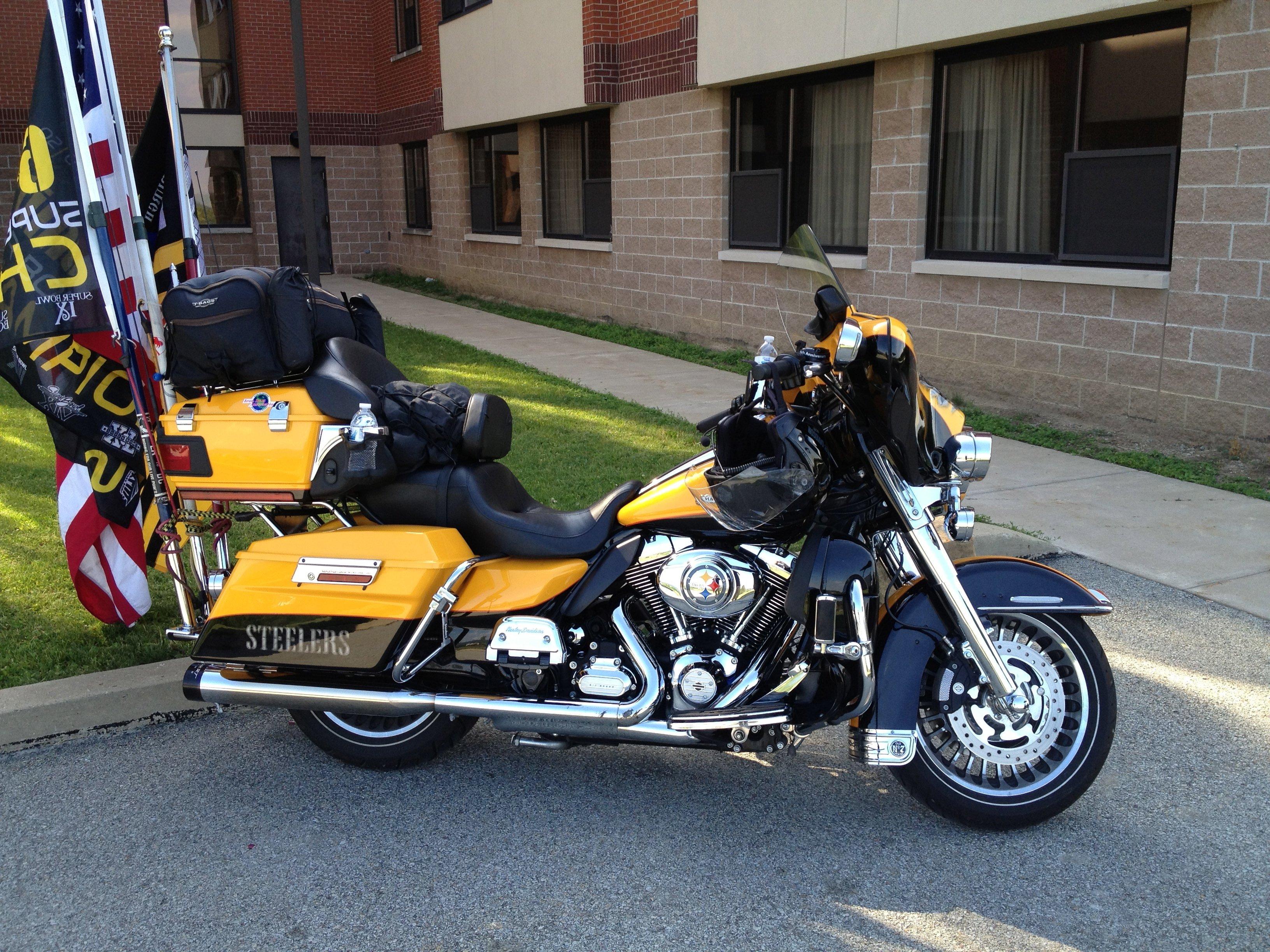 Steelers Bike owned by a true fan