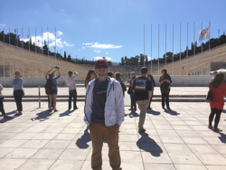 Parthenaic Stadium in Athens, Greece