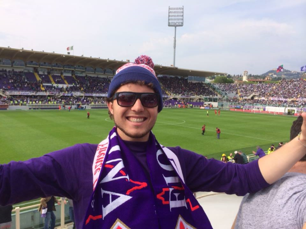 At a Fiorentina Game