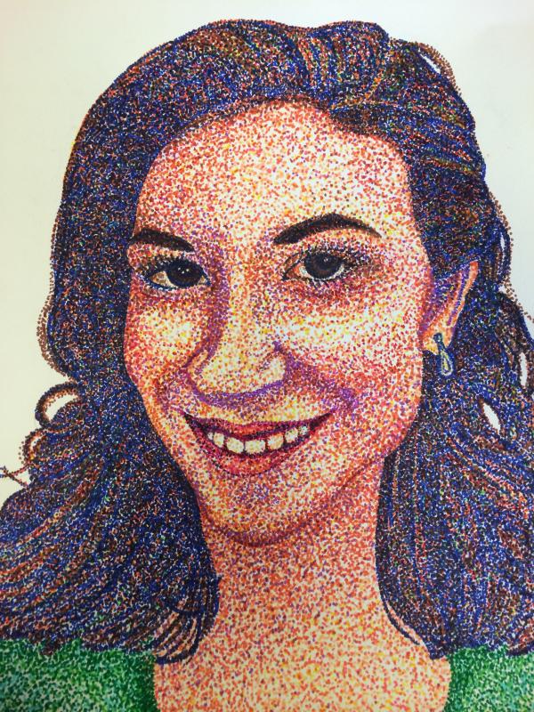 Sara Krug Self-Portrait