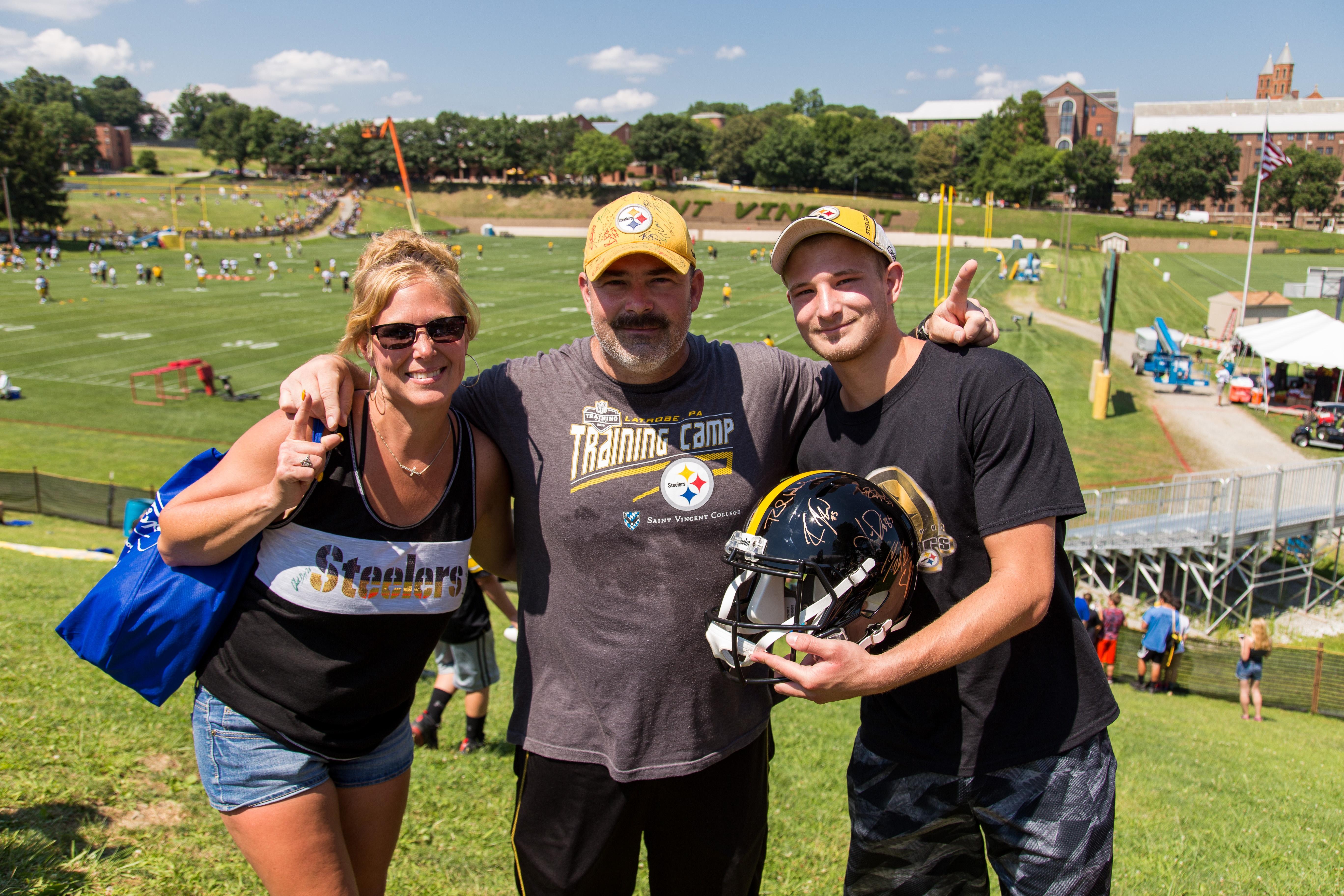 2017-8-3 Steelers Training Camp-0012