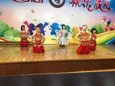 Elementary students in China
