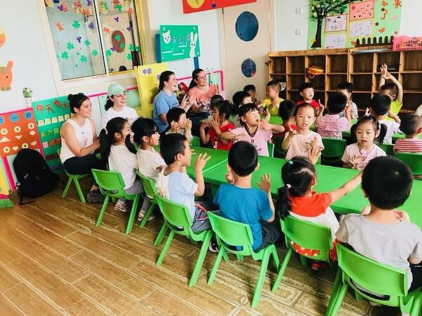 pre-school for migrant workers in Shanghai