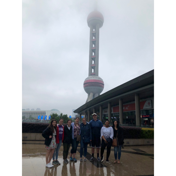 SVC Students at Shanghai Museum