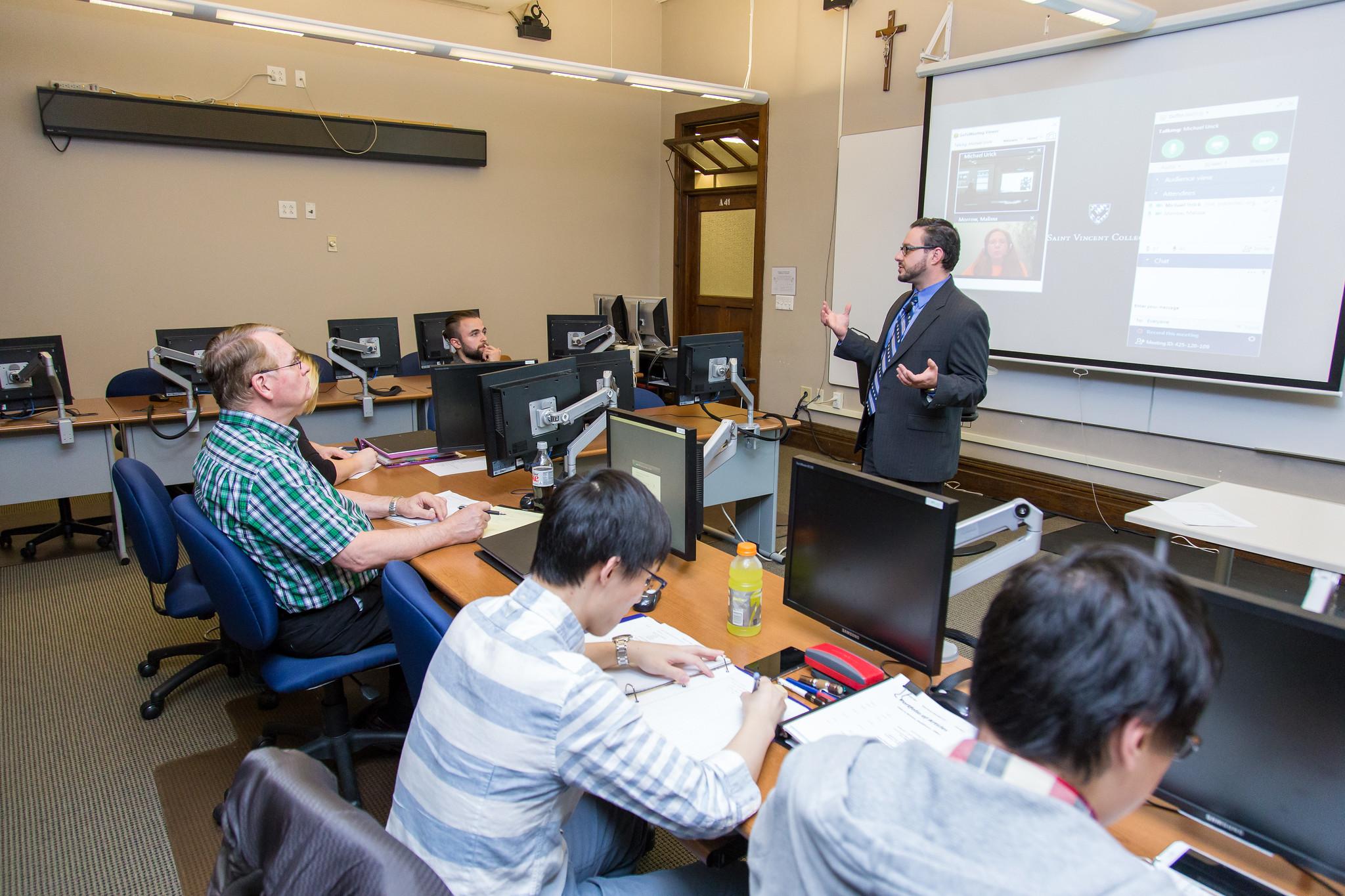 Dr. Mike Urick - MSMOE - Saint Vincent College